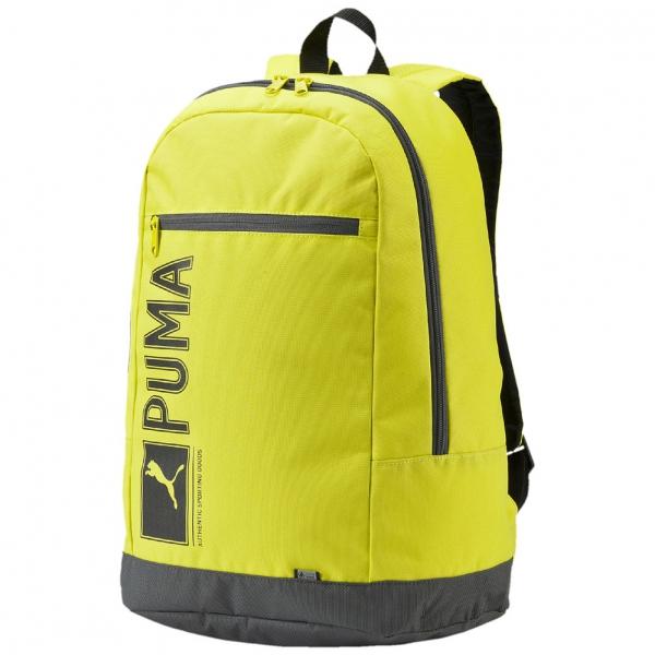 mochilas puma hombre verdes