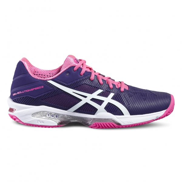 ZAPATILLA ASICS GEL-SOLUTION SPEED 3 CLAY E651N (mujer)