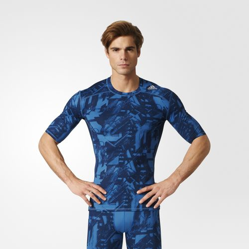 Camiseta Adidas Techfit Base Graphic BK1192