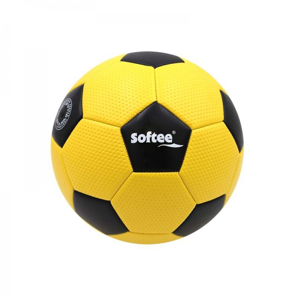 BALON FUTBOL 11 SOFTEE GOLF AMARILLO 0000102