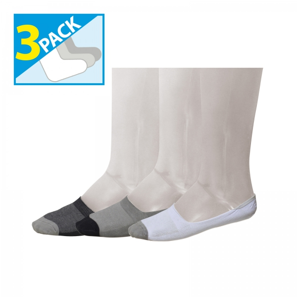PACK 3 CALCETINES INVISIBLE VIGORE LUANVI 10357