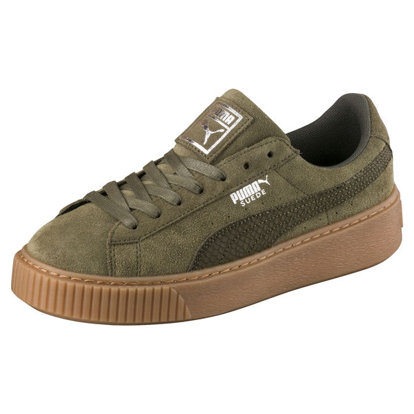 ZAPATILLA PUMA Suede Platform Animal 365109
