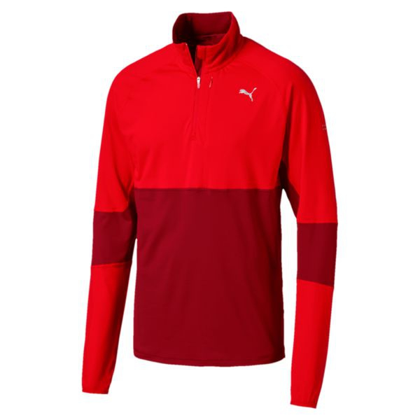 CAMISETA PUMA RUN  HALFZIP TOP 516248-02