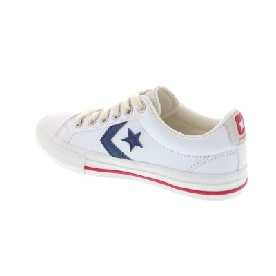 ZAPATILLA CONVERSE STAR PLAYER EV OX WHITE/NAVY/GYM RED 669255C