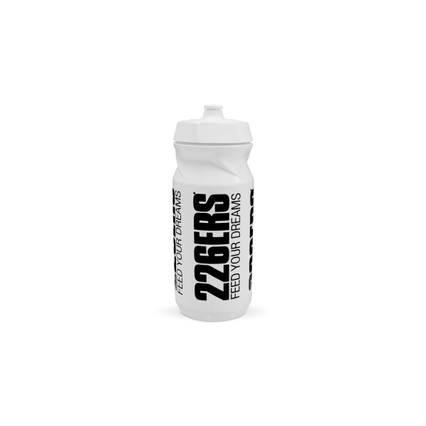 BOTTLE WHITE BLACK LOGO 600ML
