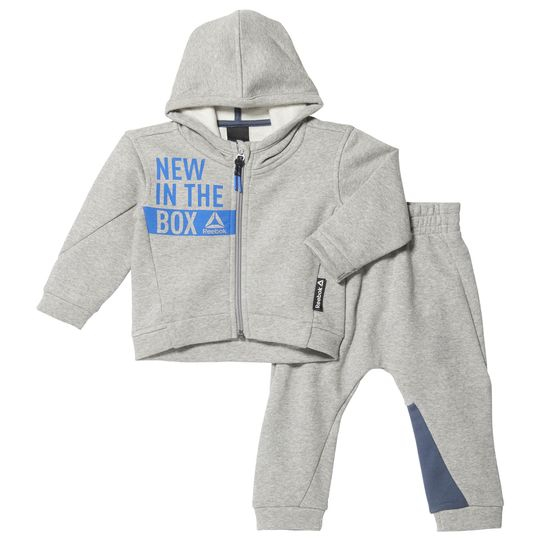 CHANDAL REEBOK ELEMENTS INFANT FULL ZIP HOODIE SET BR7071