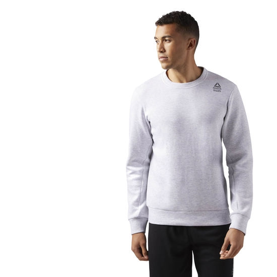 SUDADERA REEBOK CROSSFIT DOUBLE KNIT CREW CD4477