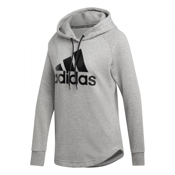 SUDADERA ADIDAS MUST HAVES BADGE OF SPORT DU0016 GRIS