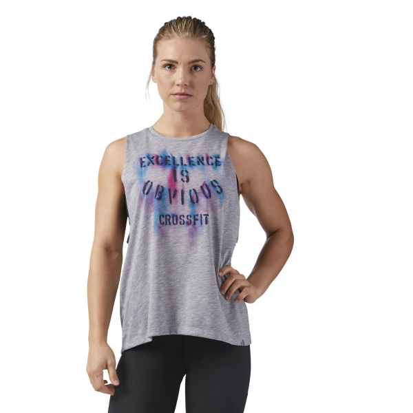CAMISETA REEBOK CF EXCELLENCE MUSCL BRGRIN CF4742