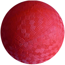 PELOTA CAUCHO BASIC JIM SPORTS 140MM 0003300